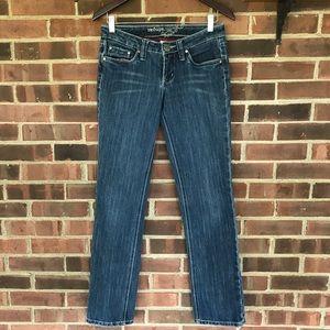 Refuge straight leg blue jeans